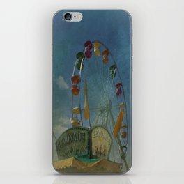 Textured Ferris Wheel iPhone Skin
