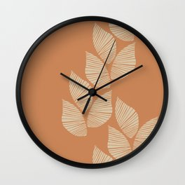 A Simple Plant Lover Wall Clock