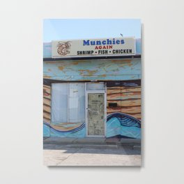Munchie's Metal Print
