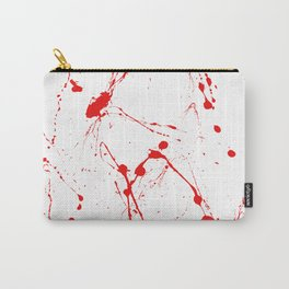 Blood Splatter Carry-All Pouch