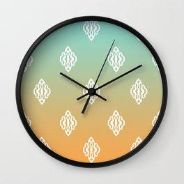Pattern I Wall Clock
