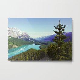 Peyto Lake, Alberta, Canada Metal Print