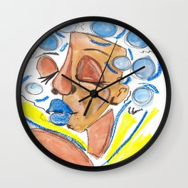 Oshun: Mother of SweetWaters Wall Clock