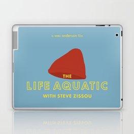 The Life Aquatic with Steve Zissou Beanie Poster Laptop & iPad Skin