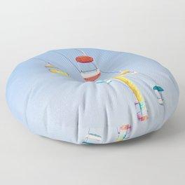Sky Ride Floor Pillow