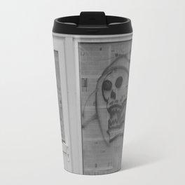 Death's newspaper booth Travel Mug