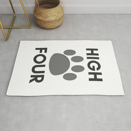 Give Me High Four  Rug