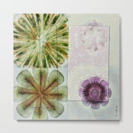 Essive Truth Flowers  ID:16165-132545-22351 Metal Print
