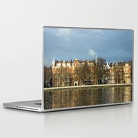 chelsea Laptop & iPad Skins featuring Sunlit Chelsea by Laura George