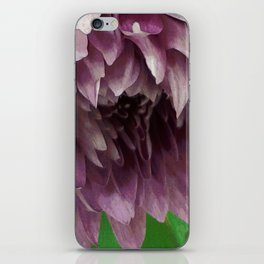 Droopy Lavender Flower iPhone Skin