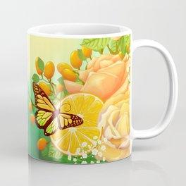 Full Bloom | Butterfly loves oranges Coffee Mug