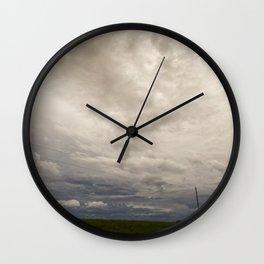 Summer Storm 2 Wall Clock