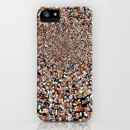 """""""The Work 3000 Famous and Infamous Faces Collage iPhone Case"""