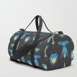 Erdrick's Equipment - Dark Grey Duffle Bag
