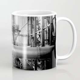 Calumet and Hecla stamp mill, Lake Linden, Michigan  Coffee Mug