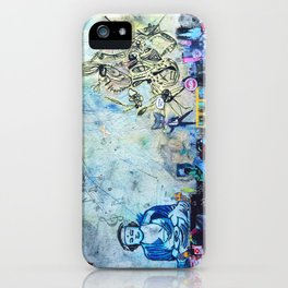 The Small World Experiment iPhone Case