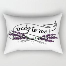 ready to run Rectangular Pillow