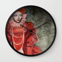 Queen Elisabeth/Newspaper Serie Wall Clock