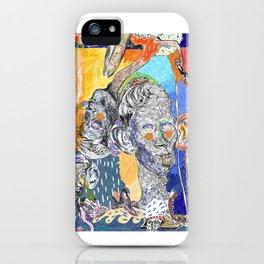 The shrimp eater, the kid and the surfer iPhone Case