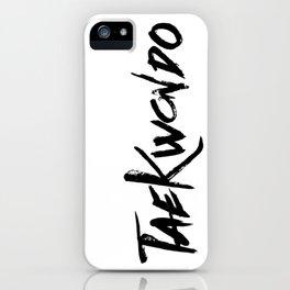 Tae-Kwon-Do iPhone Case