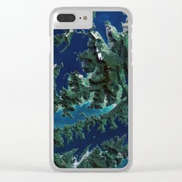 Cook Strait - New Zealand Clear iPhone Case