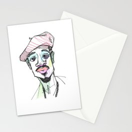 Rapper-a-day project   Day 4: Andre 3000 Stationery Cards