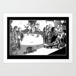 Valentine's Day Massacre Art Print