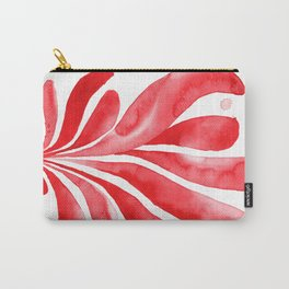 Underwater Botanical Red no. 2 Carry-All Pouch