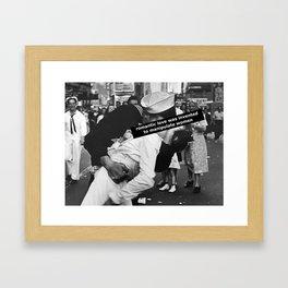Romantic Love Framed Art Print