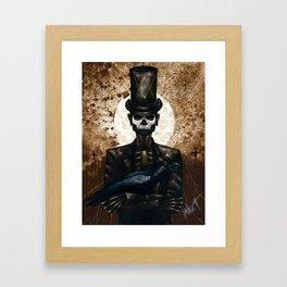Shadow Man 2 Framed Art Print