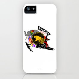 FREE HUEY iPhone Case