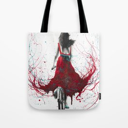 New Heart Bicycle Tote Bag