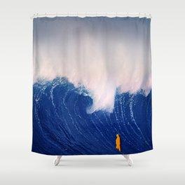 Blue Wave. Shower Curtain
