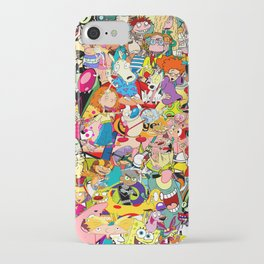 Childhood Cartoons iPhone Case