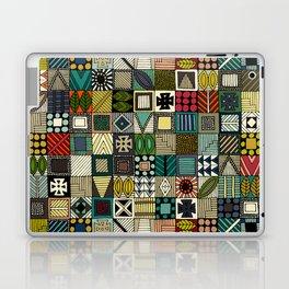 wolf geo Laptop & iPad Skin