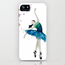 Life is better when you dance iPhone Case