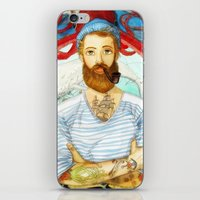 dick iPhone & iPod Skins featuring Moby Dick by Rose Draft
