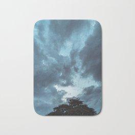 Gloomy sky Bath Mat