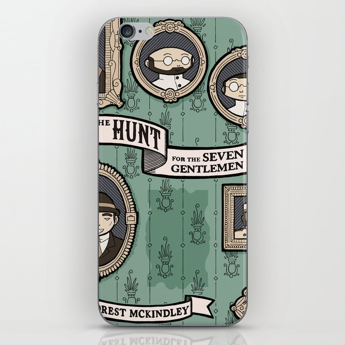 The Hunt for the Seven Gentlemen iPhone Skin
