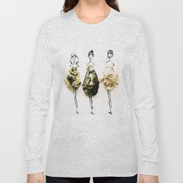 Edible Ensembles: Oysters Long Sleeve T-shirt