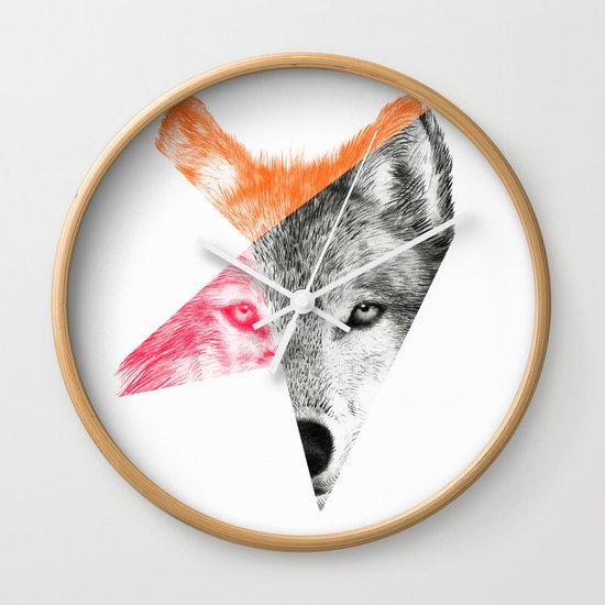 Wild by Eric Fan & Garima Dhawan Wall Clock