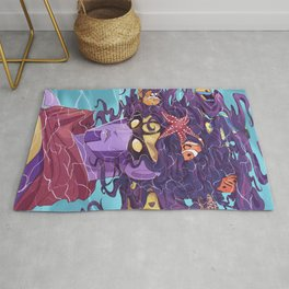 Star Fishes Rug
