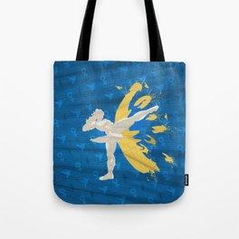 Kickin' It (An Homage To Chun-Li) Tote Bag