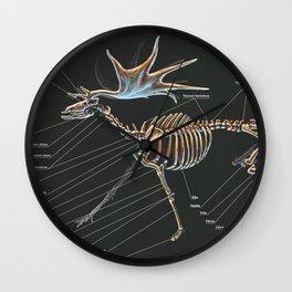 Megaloceros Giganteus Skeletal Study Wall Clock