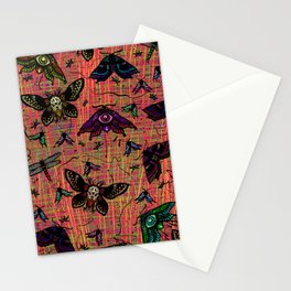 colour bugs Stationery Cards