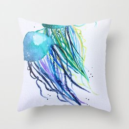 Float Together Throw Pillow