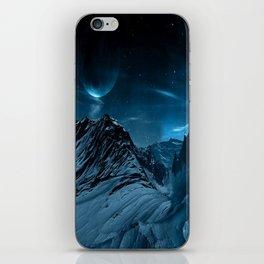 dark mountains iPhone Skin