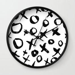 Nacho Libre- Quote- xoxo-Big Hug-Big Kiss Wall Clock