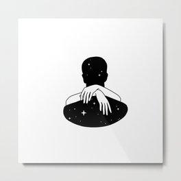 Hug the space Metal Print