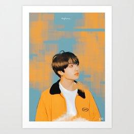 Jungkook Euphoria Art Print